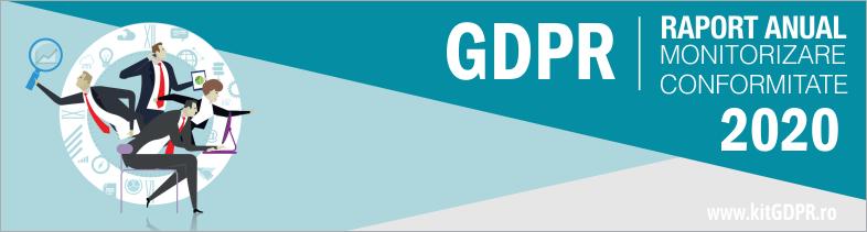 Plan de monitorizare conformitate GDPR – GDPR compliance plan