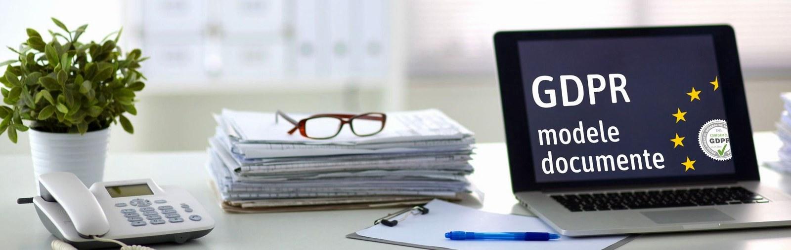 Profita de oportunitatea de a descarca gratuit modele de documente GDPR pentru implementare si conformitate cu prevederile legislative protectiei datelor cu caracter personal