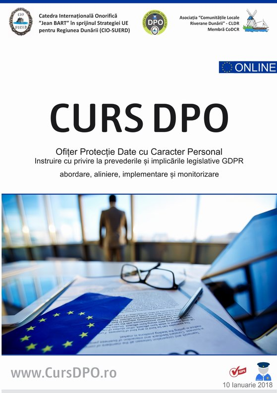 Detalii despre Curs Formare DPO conform GDPR