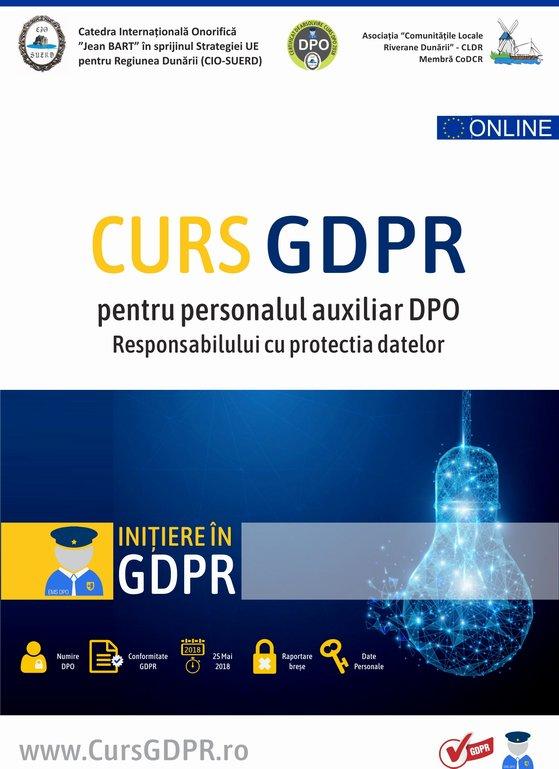 Detalii despre Curs Initiare in GDPR