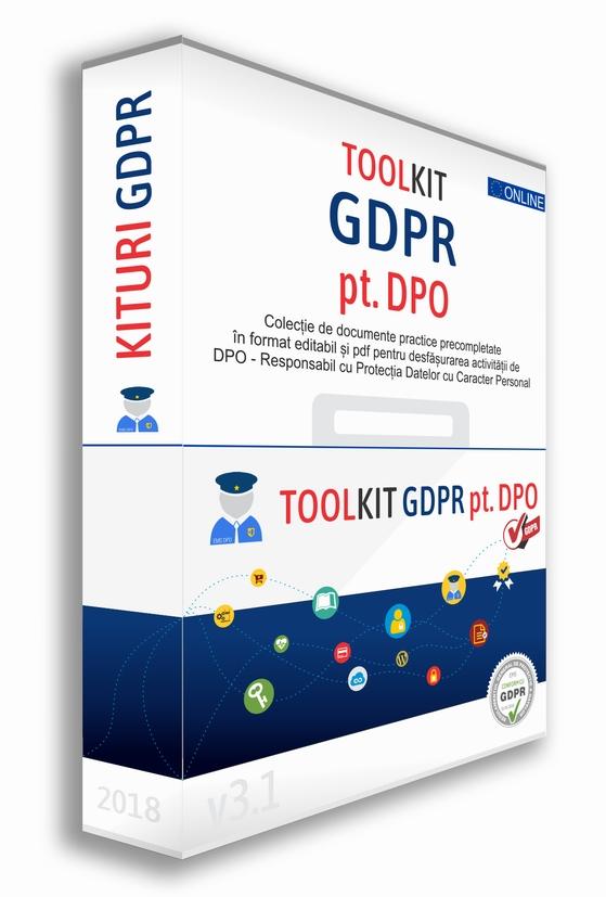 Detalii despre Kit GDPR DPO Un Toolkit pentru activitatea DPOului