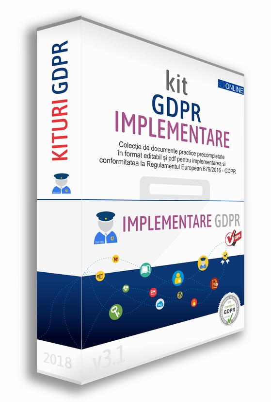 Detalii despre Kit Implementare GDPR Toolkit Documente GDPR