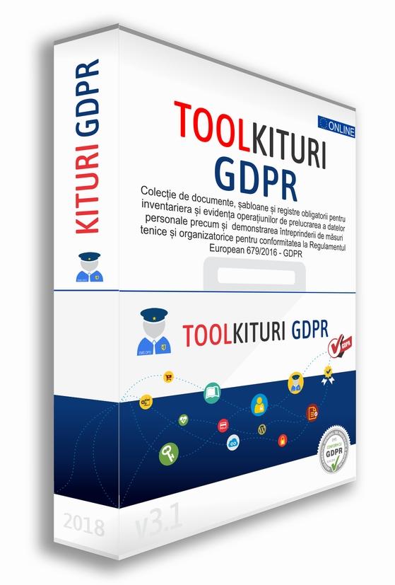 Detalii despre Set de 5 Kituri GDPR